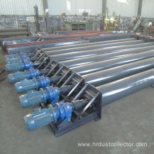 Screw conveyor for industrial cement