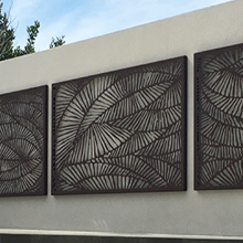 Decorative Garden Screen Panels
