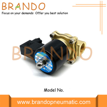 "DIN43650 B Connector 1/2 ""2W160-15 Brass Solenoid Valve"