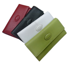 Genuine Leather Wallet Purse Pouch (EWD-003)