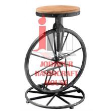 Wheel Bar Stool