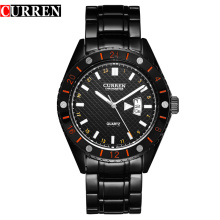 Business Quartz Watch Stainless Steel Band Men Gift
