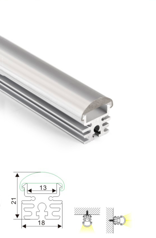 Essential Aluminum Linear Light