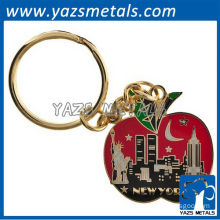 Custom keychains with the big apple new york