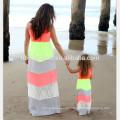 летний стиль соответствия мать дочь одежда мама и дочь платье семья одежда мама и мне одежду