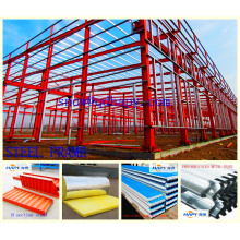 Prefab Workshop with Steel Structure with Design and Installation From Super Herdsman 2016