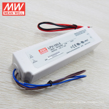 18W to 150W class 2 constant current led driver plastic case UL CE original meanwell lpc 100w type LPC-100-1400