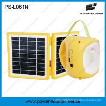 Lanterne économiseuse d'énergie solaire de 2W avec la batterie 4500mAh rechargeable