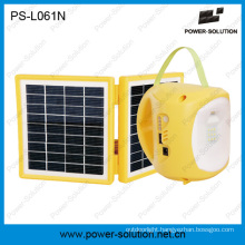2W Solar Energy Saving Lantern with Rechargeable 4500mAh Battery