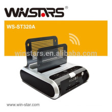 Usb2.0 Dual HDD Docking station, multi purpose storage dock,Mouse or compatible pointing device
