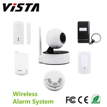 Home Wireless IP Camera with Burglar Alarm System IP