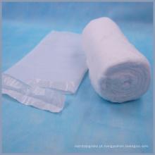 Saco de PE embalado rolos de algodão médicos