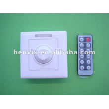 Interruptor del dimmer de la tira del LED del color único LED alejado