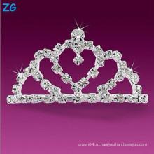 Роскошные кристаллические гребни для свадьбы, элегантные хрустальные гребни для волос, французский гребень