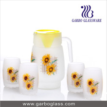 7PCS imprimant des verres de boissons en eau glacée (GB12017-1-MSYH)