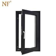 steel Window frame Aluminium Bronze color window