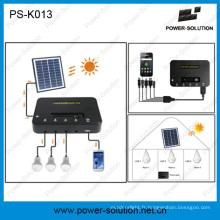 Usine vente maison léger Kit solaire avec 3 ampoules pour l'éclairage de l'Afrique