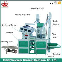 High capacity paddy mill rice stone removing machine