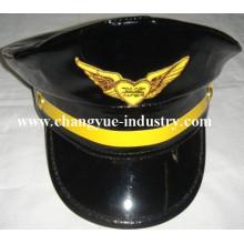 Benutzerdefinierte Leder einheitliche Matrose Kapitän Mütze Hut