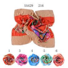 SA429 216 100 lenços de seda pura 100% seda hijab xale e scarvessupplier alibaba china