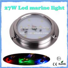 High Quality 27w IP68 LED Marine Light, SS 316 LED Yacht, Boat, Marine Light