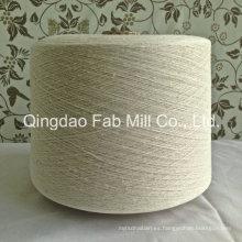 Algodón orgánico de cáñamo Hilados mezclados para tejer y tejer