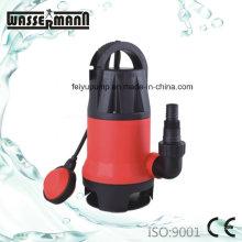 Пластиковый корпус дренажные погружные насосы для немного грязной воды