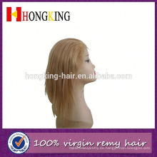 Peluca de encaje frontal de pelo de remy indio de América Latina hecha en China