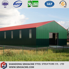 Light Steel Structure Warehouse with Steel Sheet