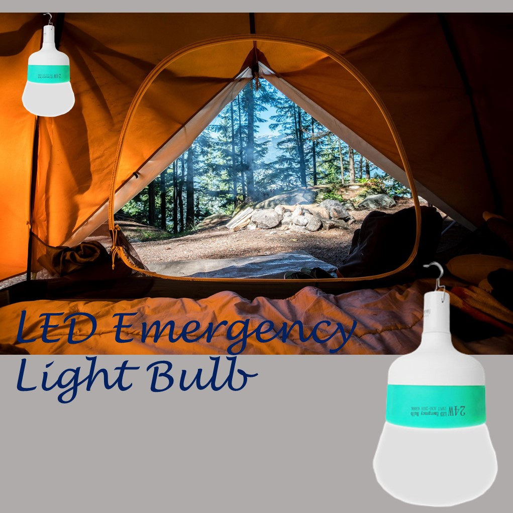 Emergency Light Bulb Cool White