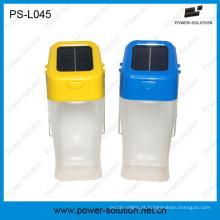 Fábrica venda direta portátil Solar lanterna LED para iluminação doméstica