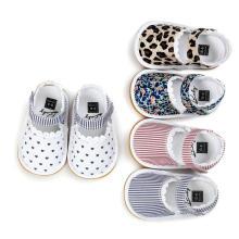 Infantil 0-1 Años Recién nacidos Zapatos para niños pequeños Unisex Prewalker para bebés Mocasines