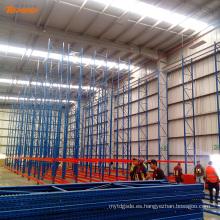 altura de almacenamiento en almacén almacenable rack de servicio pesado