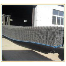 Grillage carré en acier pour bâtiment en béton