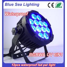 Wedding effect outdoor par light / LED DJ events par uplighting / LED waterproof stage party par can