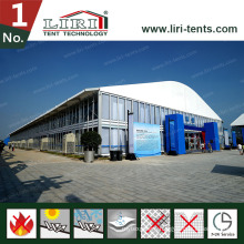 Two Floor Tent Double Decker Tent Two Storey Tent as Outdoor Exhibition Event Party