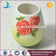 Vaso rojo especial rosa de accesorios de baño conjunto