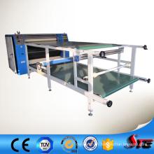 Machine de presse de transfert de type de petit pain, grande machine d'impression de transfert de sublimation