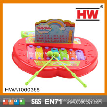Funny Baby musical toy Apple shape kid Piano