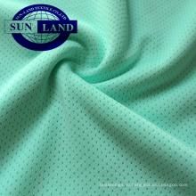 ткань сетки петли отверстия петли отверстия полиэстера knit 100 для спорта одевает