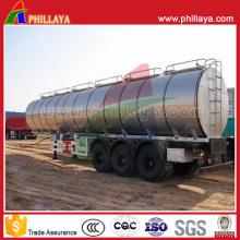 Diesel Fuel Storage Transport Truck Semi Trailer Aluminium Tank