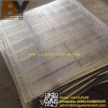 Maille perforée en aluminium pour la décoration