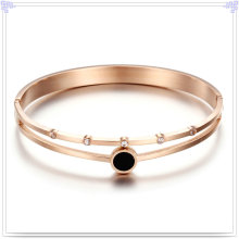 Crystal Jewelry Fashion Jewelry Stainless Steel Bangle (BR562)