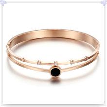 Jóia de cristal jóias de moda bracelete de aço inoxidável (br562)