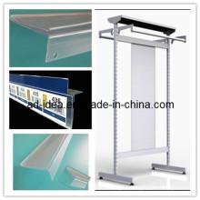 Plastic Extrusion Profile Extruded Profile PVC Extrusion