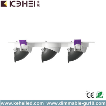 COB LED Downlights Reflectores empotrables 36W 4000K