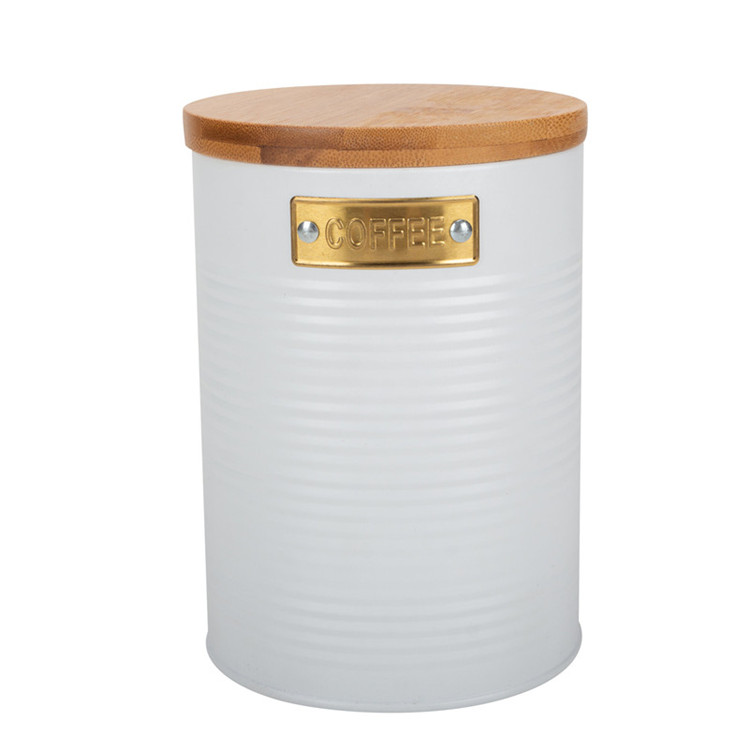 Madison 3-Piece Metal Storage Canister Set