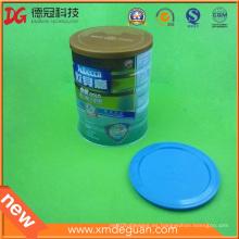Suministro de leche general en polvo latas tapa de plástico