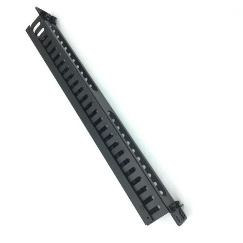 1U Desmontado 25 Slots Manager Rack Mount Cable Manager
