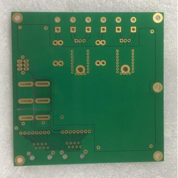 3-lags 1.6mm 3OZ Green Solder PCB